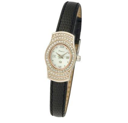 44822a9b6a7d 🚀Женские золотые часы Platinor Веста купить в Москве по доступной ...