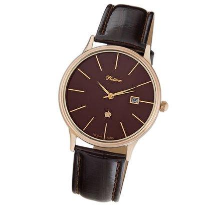 f95f0128bd21 🚀Мужские золотые часы Platinor Урал купить в Москве по доступной цене    topofsale.ru